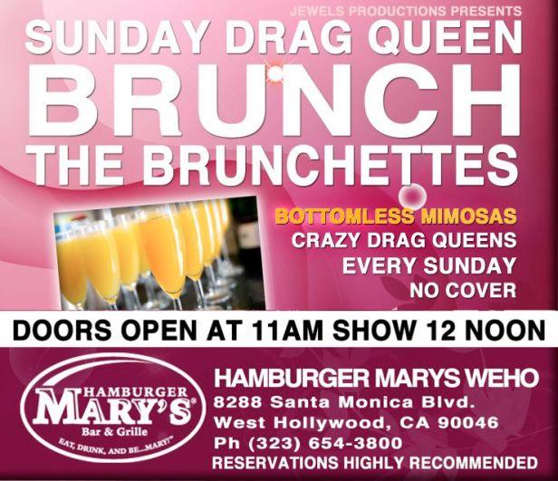 Naughty Drag Brunch in Los Angeles | Naughty LA