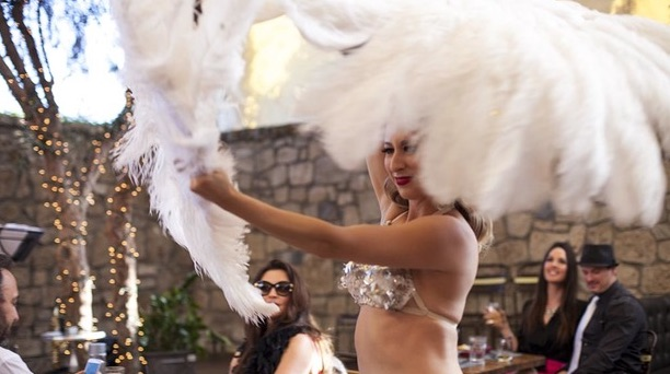 Naughty Burlesque Brunch in Los Angeles | Naughty LA
