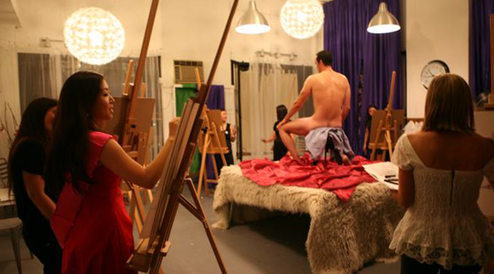 Nude Art Classes in Los Angeles | Naughty LA