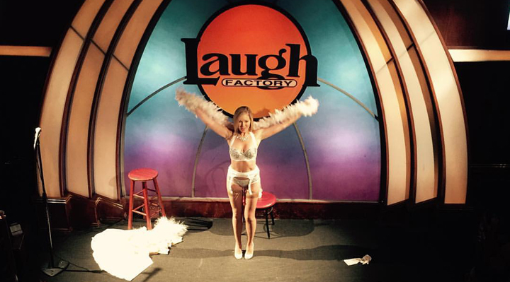 Sienna Sinclaire Burlesque at Laugh Factory Los Angeles | Naughty Guide