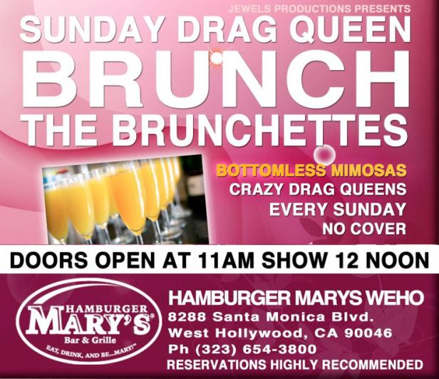 Naughty Drag Brunch in Los Angeles | Naughty LA