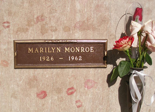 Naughty Halloween Guide Visit Marilyn Monroe's grave | Naughty LA