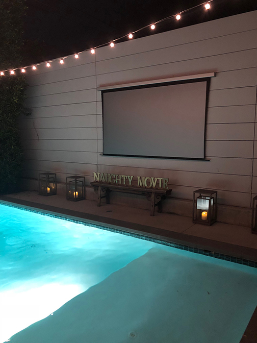 Naughty Outdoor Movie Night | Sexiest Parties | Naughty Los Angeles